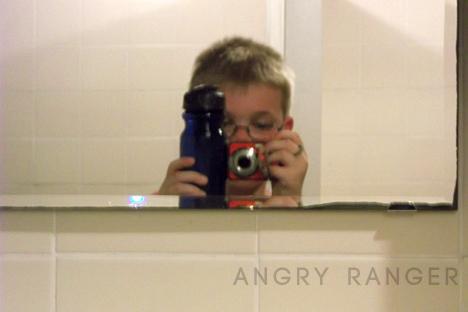 Angry Ranger Selfie