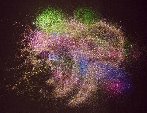 glitter spill