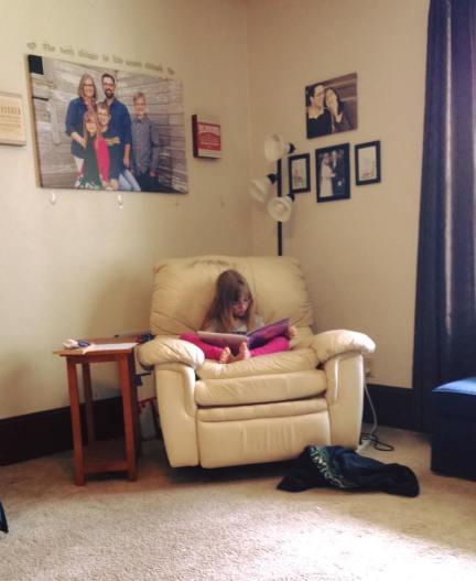 reading recliner