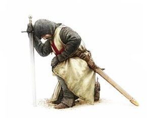 knight-praying